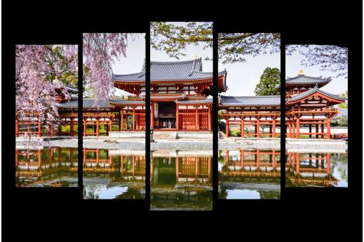 Модульная картина Китайский дворец